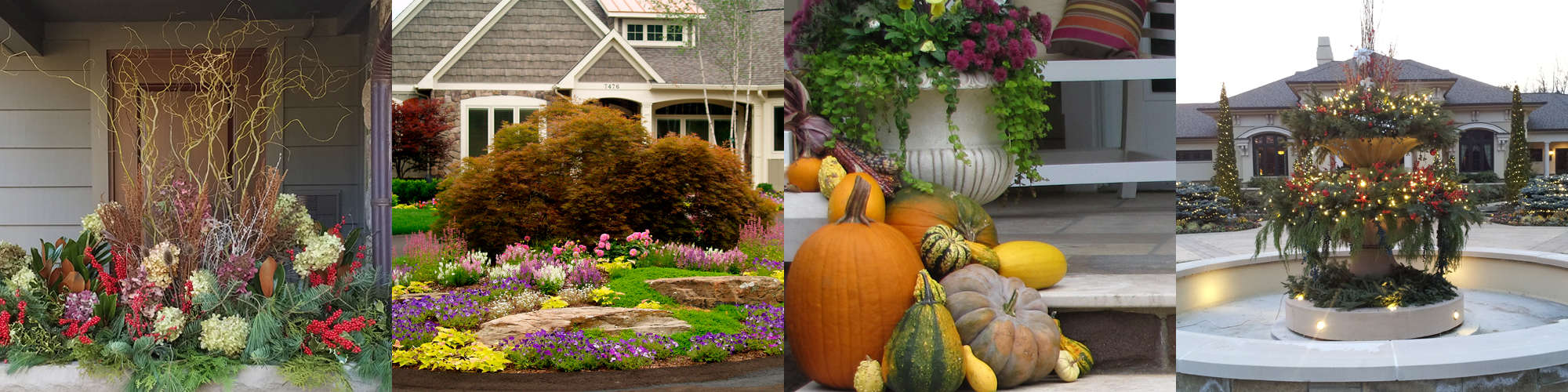 Seasons - Windscapes Landscaping - Landscape Design Grand Rapids MI