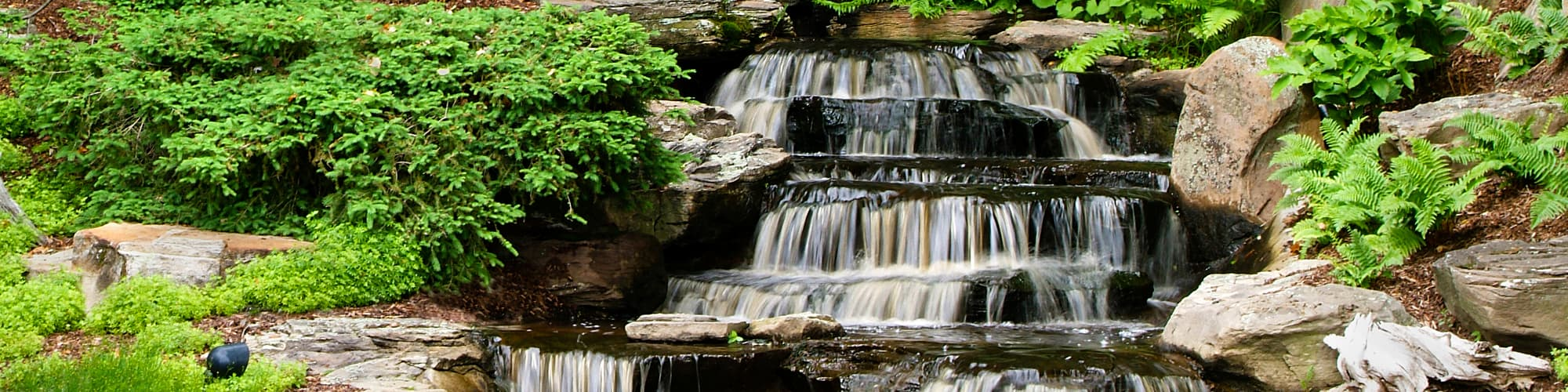 Waterfall and Pond Care - Windscapes Landscaping - Landscape Design Grand Rapids MI